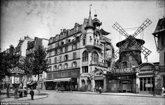 The Moulin Rouge in 19th Century