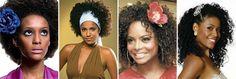 papo serio demulher: Penteados para cabelos cacheados e crespos