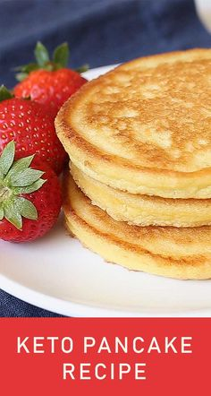 The Best Keto Pancakes recipe that has ever been made in our household! Made with just this keto pancake mix is so easy to whip together with almond flour. Sunday morning pancakes will become a normal here on out. Cheesecake Recipes, Pie Recipes, Cookie Recipes, Dessert Recipes, Unbaked Cheesecake, Desserts, Baked Chicken Wings, Oven Baked Chicken, Sopapilla Recipe