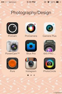 Dlolley's Help: Whats in my Photography & Design iPhone Folder Now?