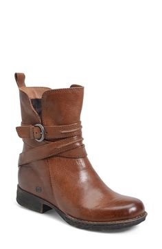 Free shipping and returns on Børn 'Leandra' Modern Short Bootie (Women) at Nordstrom.com. Wraparound straps cinch the split shaft of a tailored Italian-leather bootie handcrafted with flexible, lightweight Opanka construction for superior comfort.