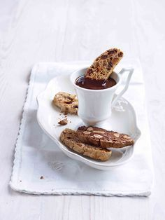 A Trio of Biscotti . Paul Hollywood . a lovely recipe from the master baker himself . a great basic recipe with three flavour variations to try . lovely cookie to enjoy with a coffee . or dunked in chocolate sauce for a slightly more indulgent treat .