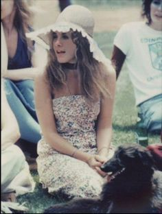 """Stevie Nicks during the filming of """"Tusk""""."""