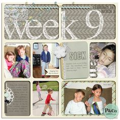 Project Life 2013 Week 09 (Left)