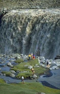 Dettifoss Waterfall, Jokulsa a Fjollum River - Iceland