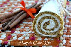 Mommy's Kitchen: Pumpkin Cake Roll & {Thanksgiving Recipe Round Up}