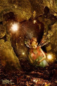 "Elves Faeries Gnomes: #Faery ~ #Alvina,"" by tytaniafairy."