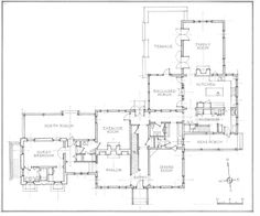Stone Farmhouse   Peter Zimmerman Architects   MID ATLANTIC    John Murray Architects   colonial farmhouse main floor plan