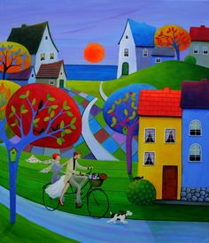 illustr.quenalbertini: Let's Go To A Party by Iwona Lifsches