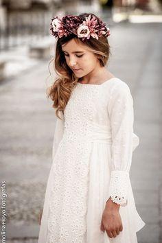Vestido comunión niña Pilar del Toro