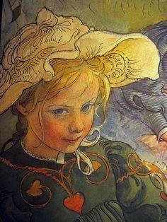Carl Larsson Carl Larsson, Art And Illustration, Alphonse Mucha, Carl Spitzweg, Scandinavian Art, Arts And Crafts Movement, Watercolor Portraits, Watercolour, Beatrix Potter