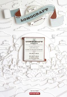 Lomocraft by Tawan Ithijarukul, via Behance