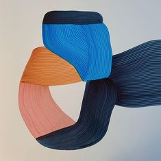Ronan Bouroullec – Design Crush Who knew that markers could create such jaw dropping art? Ronan Bouroullec, for one. His pieces are beautiful for their… Painting Inspiration, Art Inspo, Art Deco Paris, Figurative Kunst, Art Sculpture, Arte Popular, Marker Art, Color Stories, Oeuvre D'art
