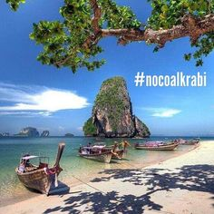 The Beauty Of Krabi Province Is Under Threat From The Project To Open A Coal-Fuelled Power Plant in Krabi (Kl Kanan Nuea Klong). Please Follow @nocoalkrabi And Raise Awareness #saynotocoal #thailand #krabi #nocoalkrabi by amazingthailand