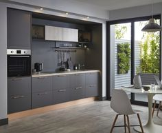 Gain more living space with a kitchen extension. To get started, explore our guide, full of kitchen extension ideas, advice and kitchen-diner photos. High Gloss Kitchen Cabinets, Glossy Kitchen, Kitchen Cabinet Styles, Open Plan Kitchen, New Kitchen, Kitchen Dining, Timber Kitchen, Kitchen Paint, Kitchen Flooring