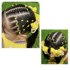 - Little girls hairstyles - Lil Girl Hairstyles, Natural Hairstyles For Kids, Princess Hairstyles, Baddie Hairstyles, Braided Hairstyles, Natural Hair Styles, Hair Due, Her Hair, Girl Hair Dos