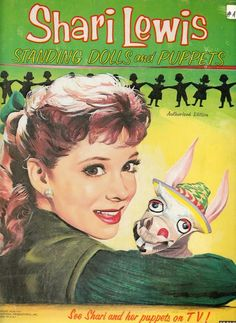 The Paper Collector: Shari Lewis Standing Dolls and Puppets, 1958-cover