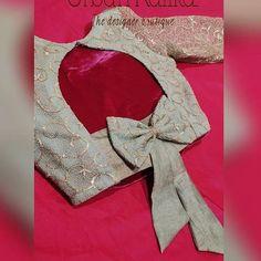 Blouse Back Neck Designs, New Saree Blouse Designs, Netted Blouse Designs, Cutwork Blouse Designs, Blouse Designs Catalogue, Fancy Blouse Designs, Sleeves Designs For Dresses, Stylish Blouse Design, Indian Blouse Designs