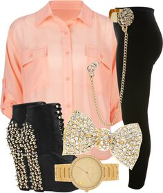 """""""pretty girl swagg"""" by lovely-addicton-xoxo ❤ liked on Polyvore"""
