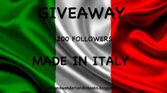 GIVEAWAY 200 FOLLOWERS: PER VOI TANTI EBOOKS ESCLUSIVAMENTE MADE IN ITALY!!