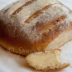 chlebm My Favorite Food, Favorite Recipes, Bread Recipes, Cooking Recipes, Polish Recipes, Bread Rolls, Nom Nom, Bakery, Food And Drink