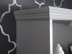 Faux Built-In Bookcase - A Painter's DIY Small Condo Design on HGTV