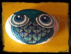 KENSINGTON OWL CLAN_painted by purpleblackbluebaby on Etsy