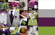purple modern wedding ideas   November's Elegant Purple Wedding Affair @ Poppiseed Design