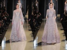 """Elie Saab's """"Ode to Delicateness"""" « Fashion"""