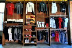Pro shop wall