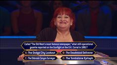 """Today, contestant Simi Lipsman kicks off Week 2 of the new #MillionaireTV season with host Chris Harrison. And to answer this question, Simi has to take herself back to the Old West. Will the O.K. Corral be more than okay for Simi? Don't miss Monday's """"Millionaire"""" and find out. Go to www.millionairetv.com for time and channel to watch."""
