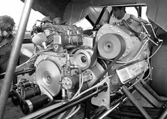Dual Engine Funny Car