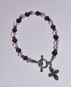 Genuine Amethyst Swarovski Crystal February by IslandGirl77, $13.99