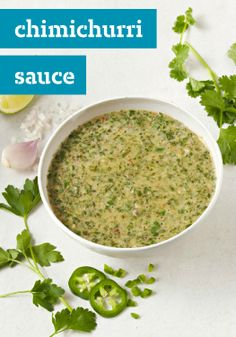 Chimichurri Sauce — Making homemade Chimichurri Sauce is a surprisingly easy affair. Pick up some fresh parsley and cilantro at the farmers' market and let's get started!