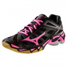 Mizuno Wave Lightning RX3 Womens Volleyball Shoe 430168.9010 Black-Red $109.95