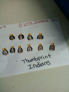 Thumbprint Indians