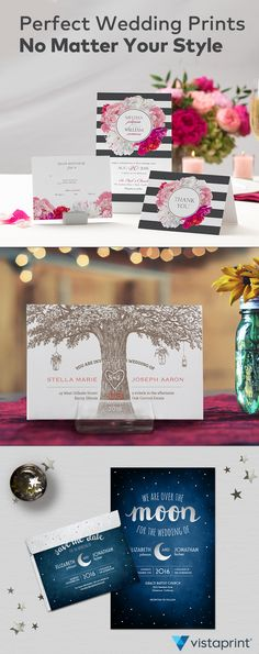 Get captivating save-the-dates and wedding stationery at an amazing value with Vistaprint. Use Vistaprint to choose from a variety of stunning samples or use what's provided to build your own dreamy design exactly the way you want, down to the last detail. Visit Vistaprint and save 25% off today. Check another item off that wedding to-do list!
