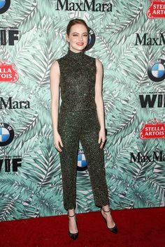 Emma Stone - Women in Film Pre-Oscar Cocktail Party - Prada