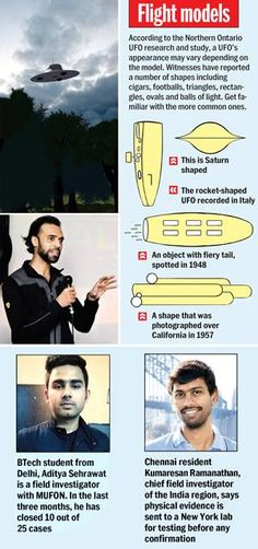 UFO hunters - Mumbai Mirror -