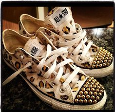 Custom Converse by Highfashionhipster on Etsy, $115.00