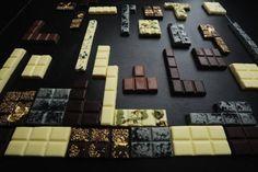 Tetris chocolate @ MO HONG KONG