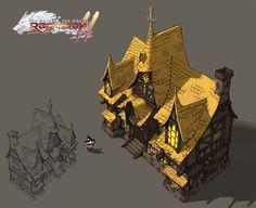 "ArtStation - MMO RPG Game ""Ragnarok Online 2"" concept art 2007 work part_2, Myungseop Lee"