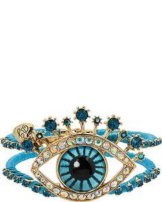 Betsey Johnson Evil Eye bracelet Turquoise and gold Bellydance ethnic bohemian Closet Accessories, Jewelry Accessories, Jewelry Design, Bangle Bracelets, Bangles, Kawaii Jewelry, Betsey Johnson Dresses, Evil Eye Bracelet, Hamsa