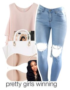 """""""196"""" by xbambiix ❤ liked on Polyvore featuring Chicwish, GUESS, Jack Spade, women's clothing, women's fashion, women, female, woman, misses and juniors"""