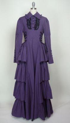 NWOT-Victorian-Gothic-Period-Dress-Gown-Reenactment-Theatre-Halloween-Costume