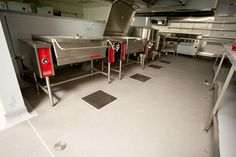 Allproof Industires Commercial Kitchen and Food Prep Areas Drainage Solutions. CK Sumps at Eden Park