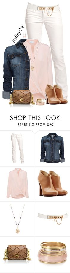 """Denim jacket & ankle boots"" by kelley74 ❤ liked on Polyvore featuring Replay, MANGO, 3.1 Phillip Lim, L'Autre Chose, Lane Bryant, ASOS, Tory Burch, Monsoon and Irene Neuwirth"