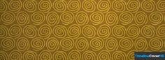 Golden Swirls Pattern Facebook Cover Timeline Banner For Fb Facebook Cover