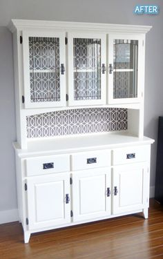 One piece of furniture that has never gone out of style is the kitchen hutch furniture. Kitchen hutch furniture pieces are a great way to express yourself. Hutch Furniture, Refurbished Furniture, Repurposed Furniture, Shabby Chic Furniture, Furniture Projects, Furniture Makeover, Painted Furniture, Diy Furniture, Hutch Makeover