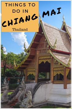 Heading to Thailand? Make sure you travel north to Chiang Mai. Here is a great list of things to do in Chiang Mai so you don't miss out on anything. Put Chiang Mai on your list of places to visit in Thailand. #thailand #thingstodo #southeastasia.